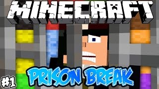 PRISON BREAK - Minecraft #1