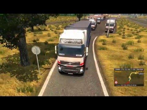 Euro Truck Simulator 2 Konwój Firmowy #3 4/4 W/MrBartass444 PrezesGaming