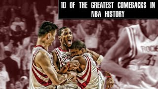 10 of the greatest comebacks in NBA history