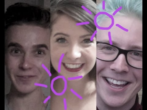Zoella, Tyler Oakley, Pointlessblog and more take the 7 second challenge at Summer in the City 2014
