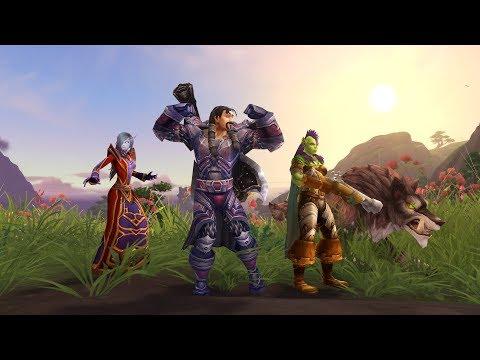 Пробный режим в дополнении Battle for Azeroth
