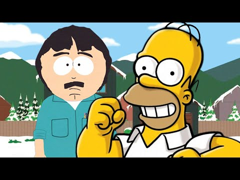 Homer Simpson vs Randy Marsh. Epic Rap Battles of Cartoons Season 3.