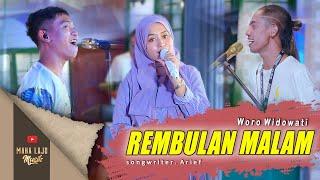 Download lagu REMBULAN MALAM - WORO WIDOWATI ( LIVE MAHA LAJU MUSIK)