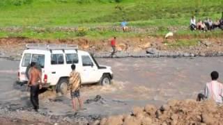 River crossing in Ethiopia