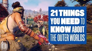 21 Things You NEED To Know About The Outer Worlds Gameplay - PERKS! FLAWS! SLOWWWW MOTIIOOONNN!