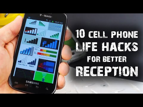 10 Cell Phone Life Hacks. For Better Reception (#ad)