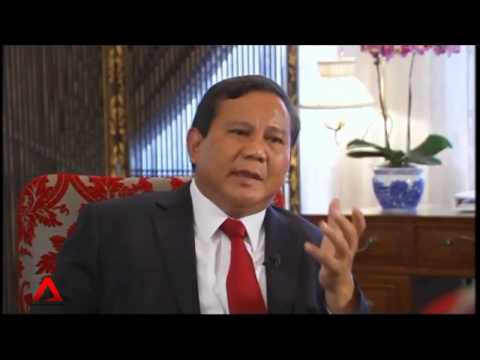 The Interview: Prabowo Subianto, the Next Indonesian President? (Channel News Asia)