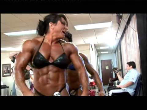 Candy Canary Huge Female Bodybuilder