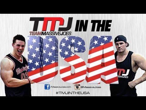 TMJ In The USA! Episode 6 | MassiveJoes.com Team MassiveJoes United States Mr Olympia Tour 2013