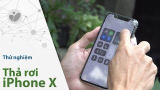 Thử độ bền iPhone X - muốn bể cũng khó