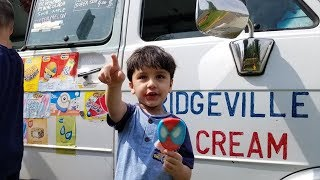 ICE CREAM TRUCK SWIMMING POOL PARTY!! Finding Ryan in a Swimming Pool