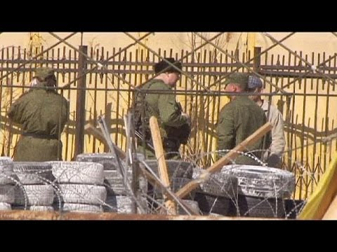 NATO fears Russian troop build-up along border with Ukraine