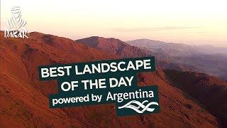 Étape 3 - Paisaje del día / Landscape of the day / Paysage du jour; powered by Argentina