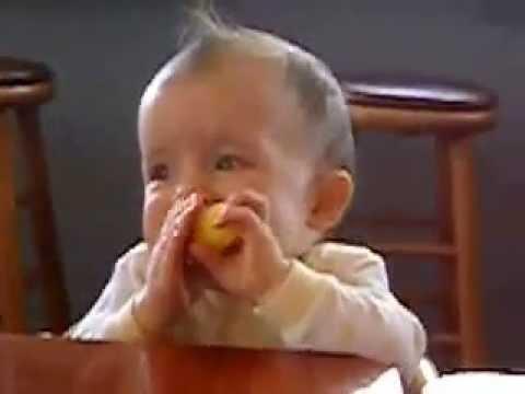 Приколы с детьми как малыши реагируют на вкус лимона