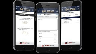 Introducing group messaging  to YOUR sports network!