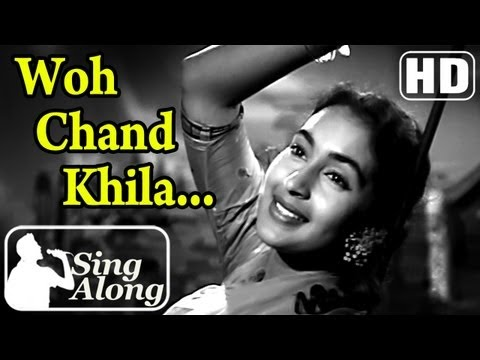 Woh Chand Khila (hd) - Lata Mangeshkar Old Hindi Karaoke Song - Anari - Raj Kapoor - Nutan - Mukesh video