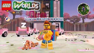 Lego worlds-NEW! Cheat codes-Chinese-Dog,Cadillac,Egg-Blaster-weapon