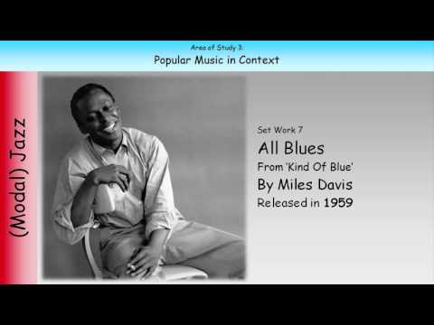 7. All Blues - Miles Davis (GCSE Music Edexcel)