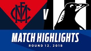 Melbourne v Collingwood Highlights | Round 12, 2018 | AFL