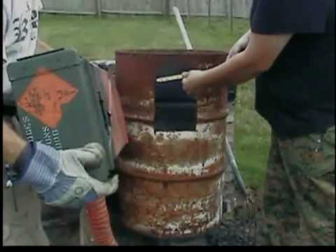How To Build A Wood Gasifier (FEATURED ON DOOMSDAY PREPPERS SEASON 2)