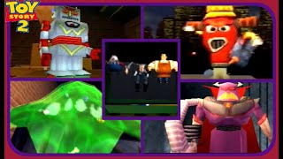 Toy Story 2: Buzz Lightyear to the Rescue: All Boss Encounters-Perfect