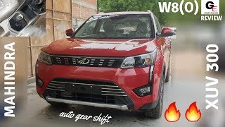 Mahindra XUV 300 W8(o) auto gear shift🔥 | diesel automatic | review | features | specs | price !!!