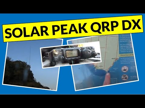 QRP DX contacts from Table Rock Point (Melbourne)