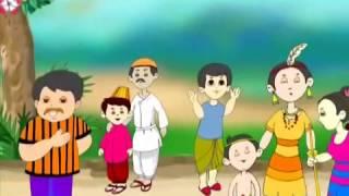 Bengali Nursery Rhyme kid song Cartoon Bengali O