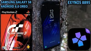 Samsung Galaxy S8 (Exynos, Oreo) - Gran Turismo 3: A-Spec - DamonPS2 PRO v1.1 - Test