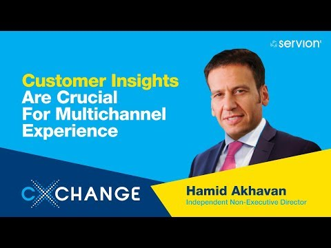 CXChange 2018: Customer Insights For A Multi-channel Experience