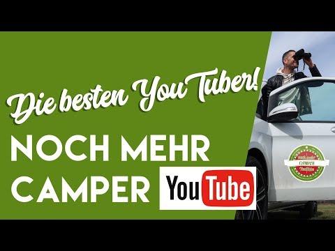 Das sind die WICHTIGSTEN und BESTEN YouTube-Kanäle für Wohnmobil - und Camper - Fans