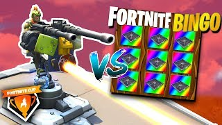Bingo Speler VS Turret!🔥 - Fortnite Cup Mini-Game met Duncan