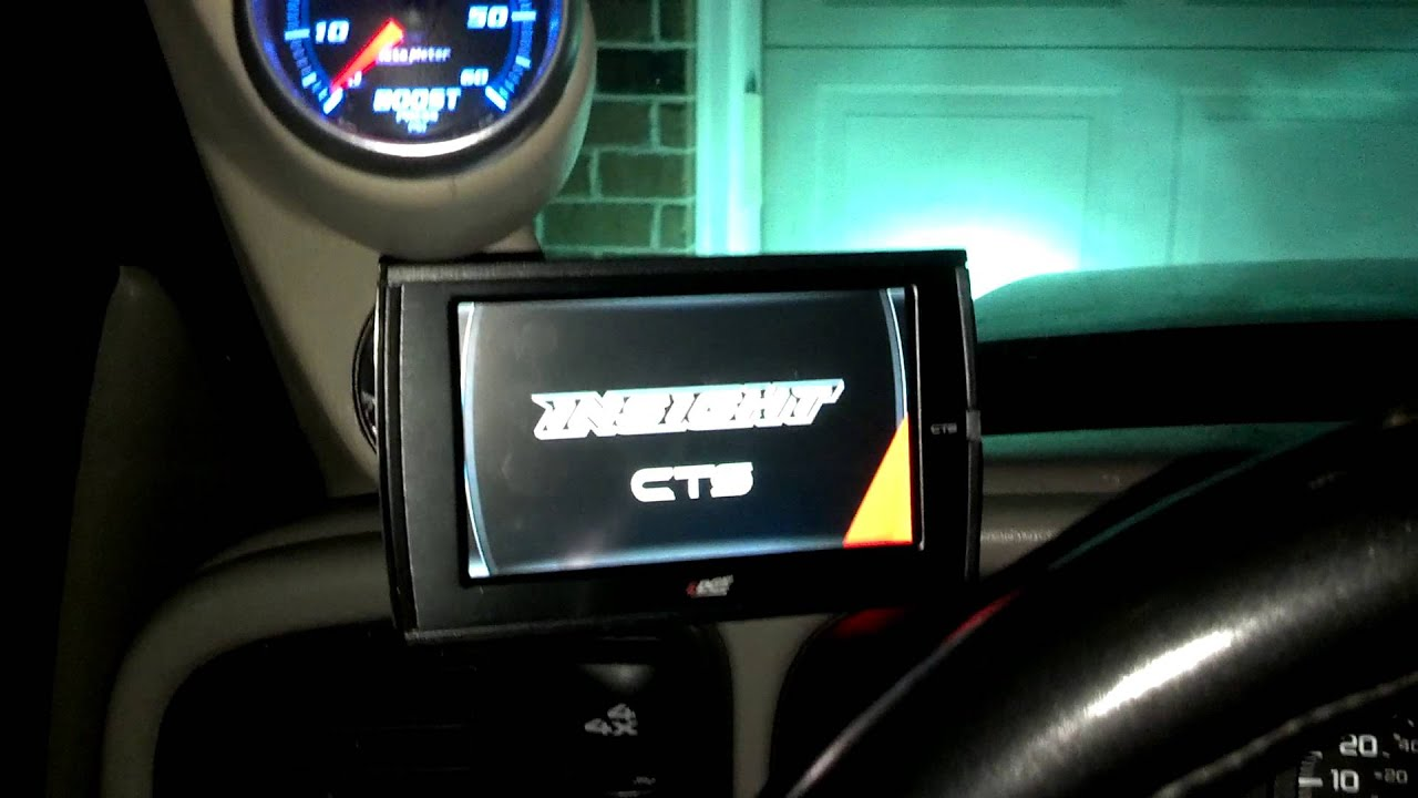 Edge Insight Cts Install On Duramax Youtube