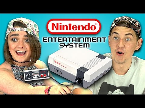TEENS REACT TO NINTENDO [NES]