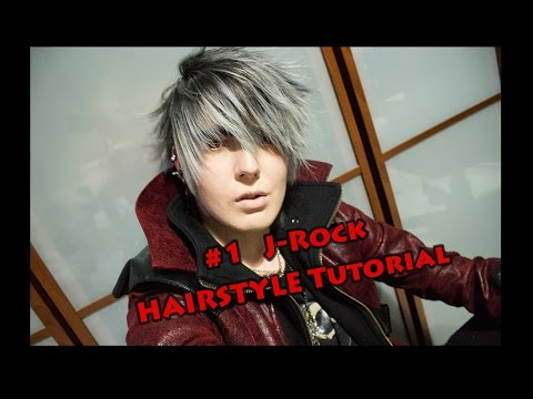 #1 Visual Kei Hairstyle Tutorial J-rock By Misch.axel video