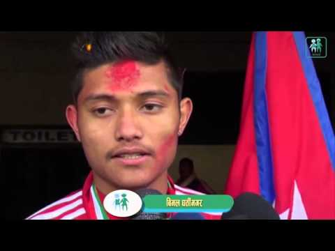 Nepali Football Player