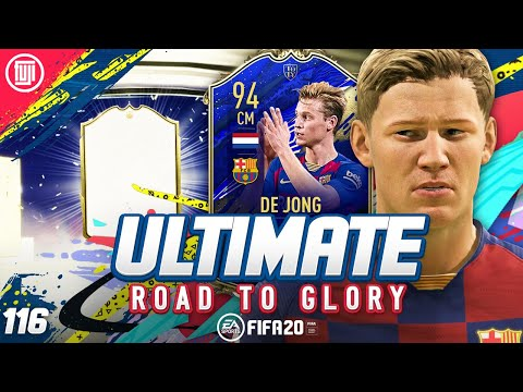 ICON IN A PACK!!! ULTIMATE RTG #116 - FIFA 20 Ultimate Team Road to Glory