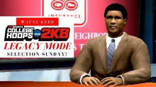 SELECTION SUNDAY! [NCAA College Hoops 2K8 Legacy Mode] Part 14