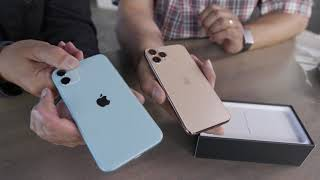 iPhone 11, 11 Pro, 11 Pro Max: live unboxing