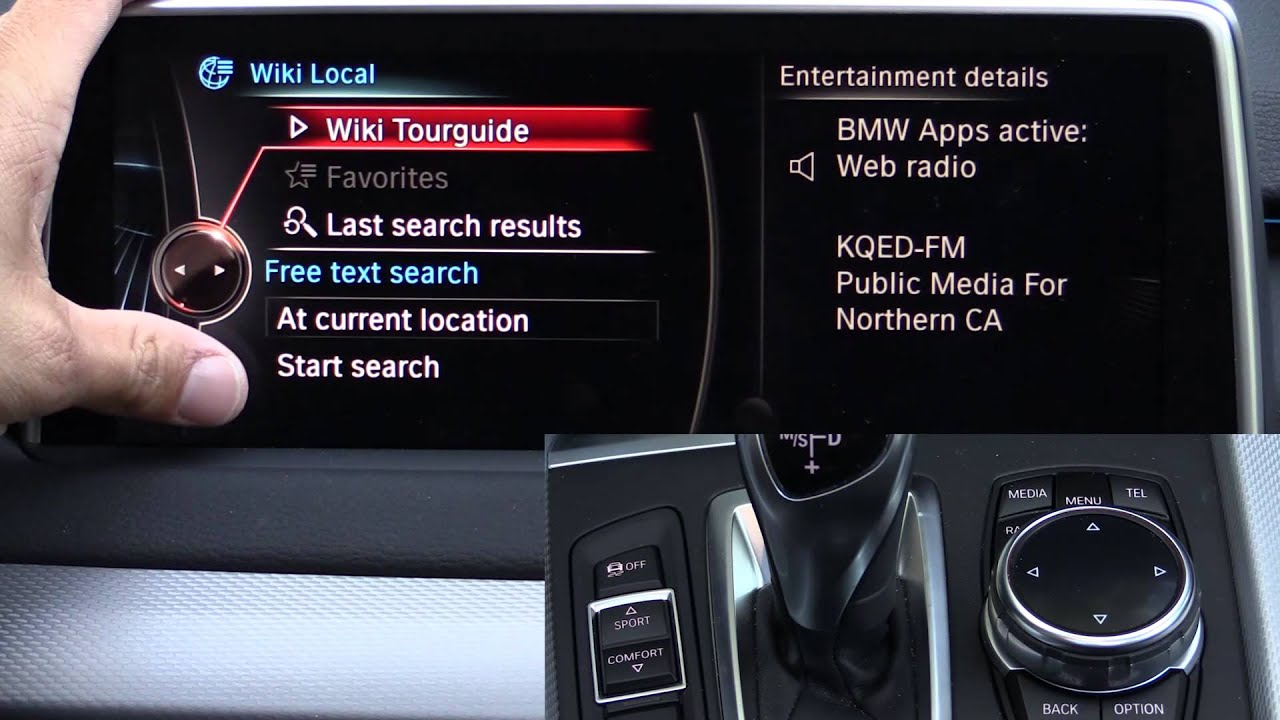 2014 2015 2016 Bmw Idrive Touch Infotainment Review