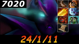Dota 2 Spectre 7020 MMR 24/1/11 (Kills/Deaths/Assists) Ranked Full Gameplay