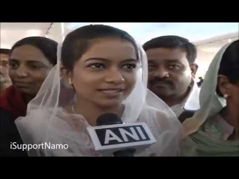 Narendra Modi - Raksha Bandhan Celebration : This is secularism