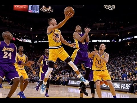 Los Angeles Lakers vs Golden State Warriors - November 24, 2015