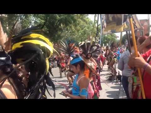 Día del Danzante 13 de octubre 2014 en ZAPOPAN Jalisco..
