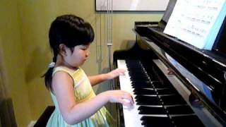 Fur Elise performed by Cheryl (5 years old)