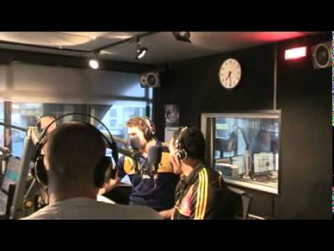 Mils and Whoppa do 4 radio stations - Muliaina & Mackintosh visit 4 radio stations in 60 mins