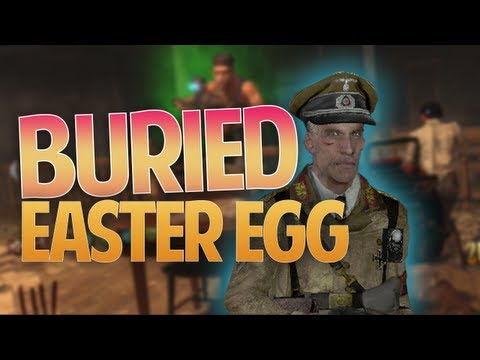 BURIED RICHTOFEN EASTER EGG GUIDE - Mined Games Achievement!