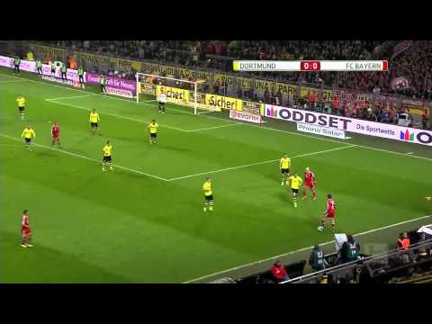 Borussia Dortmund vs Bayern Munich 0 3 Goals 2013 Gotze Robben Muller Goals Video  Soccer Blog Footb