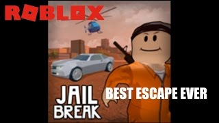 Roblox JailBreak Beta THE BEST ROBBERY EVER