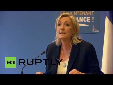 France: Le Pen calls for French EU referendum after Brexit victory
